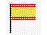 Kralenplank Vlag Spanje