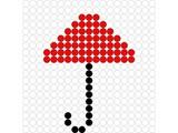 Kralenplank Paraplu 2