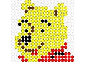 Kralenplank Winnie de Pooh