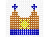 Kralenplank Muts 1