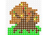 Kralenplank Herfstboom