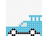 Kralenplank Auto 1
