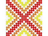 Kralenplank Schoonheidsfiguur 18