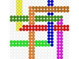 Kralenplank Schoonheidsfiguur 16