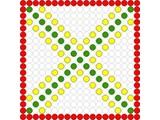 Kralenplank Schoonheidsfiguur 11