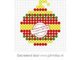 Kralenplank Kerstbal