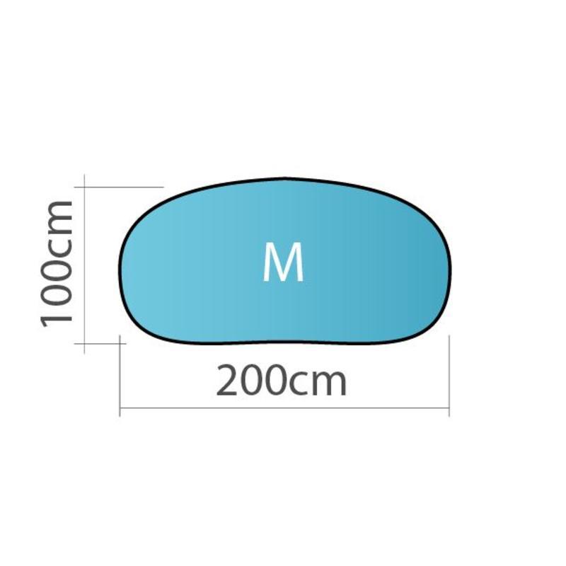 Pop up banner, horizontaal, M - 200x100cm