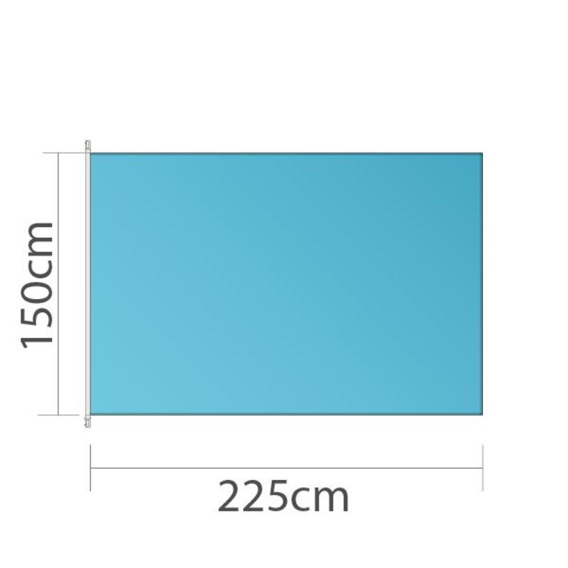 Mastvlag, full colour bedrukt, 225x150cm