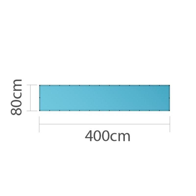 Spandoek, full colour bedrukt, 400x80cm