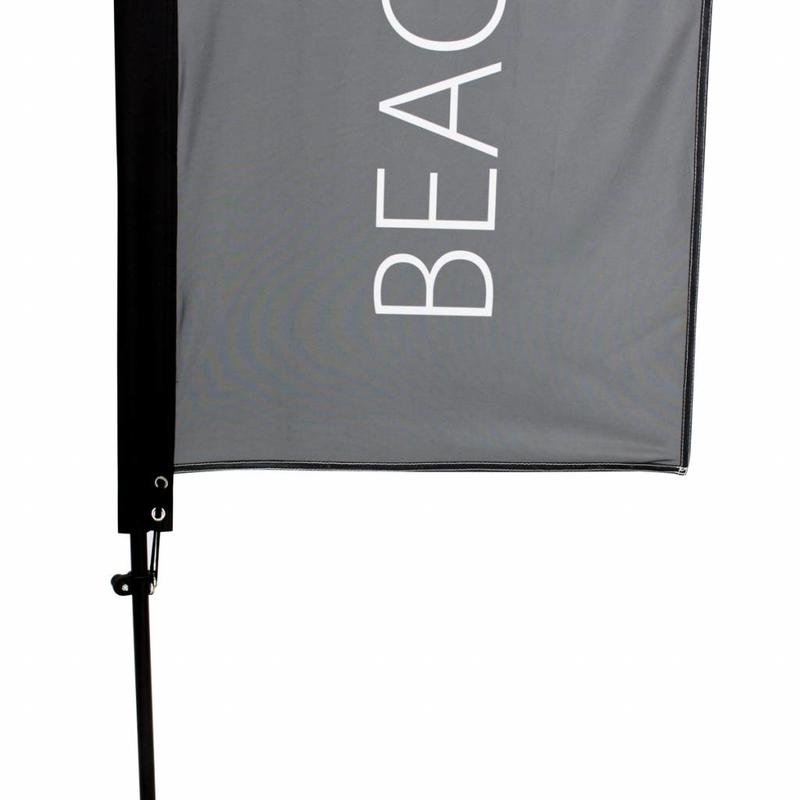 Beachvlag Straight