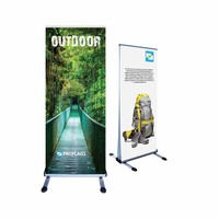 Roll up banner outdoor dubbelzijdig