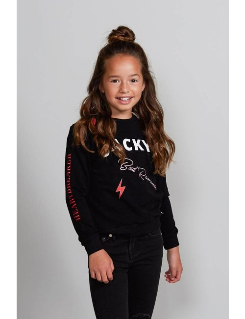Jacky Girls Sweater met statement prints