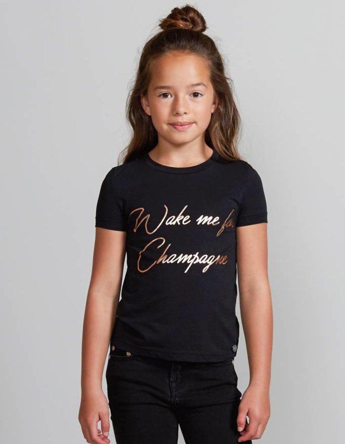 T-shirt met statement print