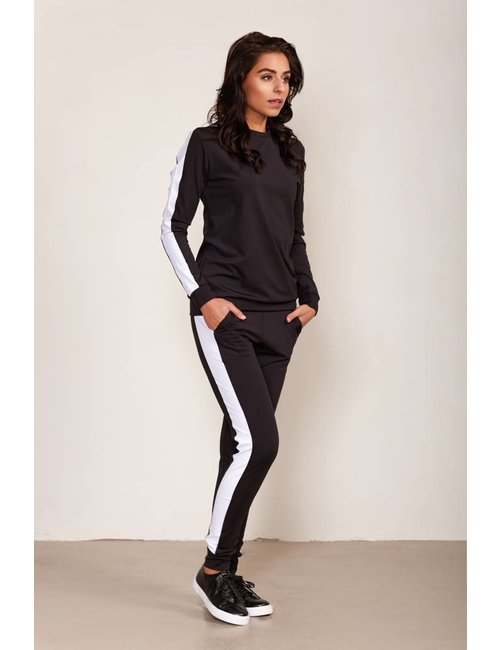 Jacky Luxury Traveller track pants met sportieve streep