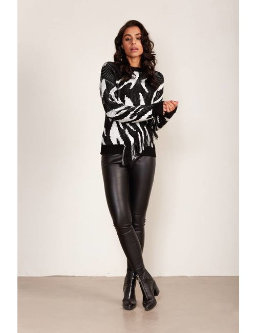 Jacky Luxury Pullover met franjes