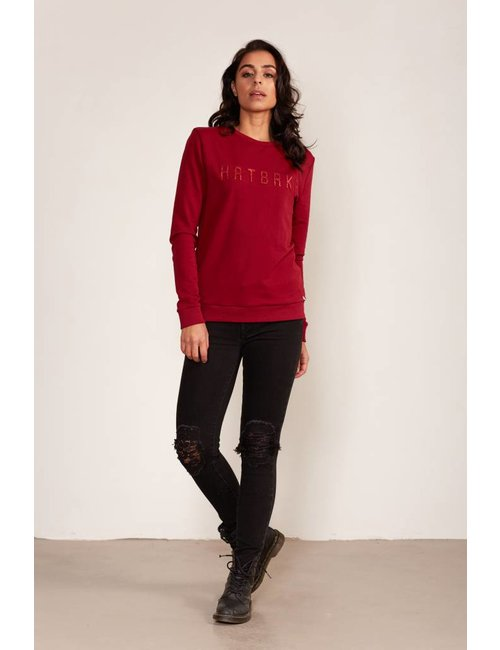Jacky Luxury Sweater met glitter artwork