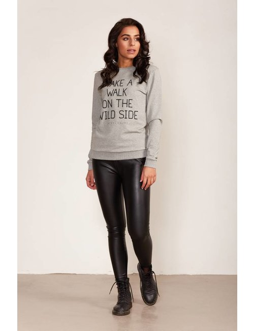 Jacky Luxury Sweater met statement print