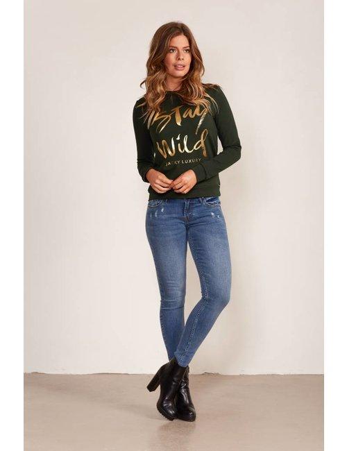Jacky Luxury Sweater met statement print