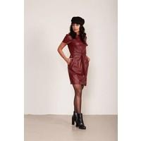 Leather look jurk