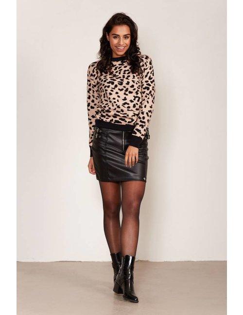 Jacky Luxury Pullover met luipaarddessin