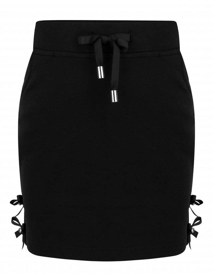 Korte rok met strik details