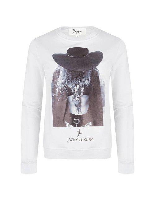 Jacky Girls Sweater met statement print