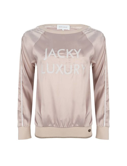 Jacky Luxury Sweater van satijn