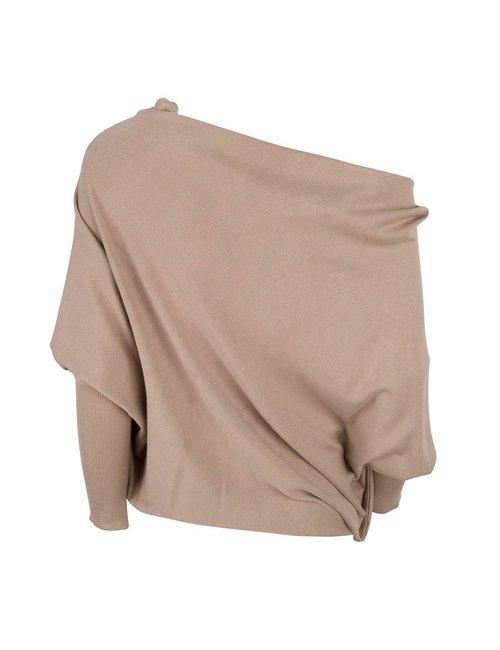 Jacky Luxury A-symmetrische trui