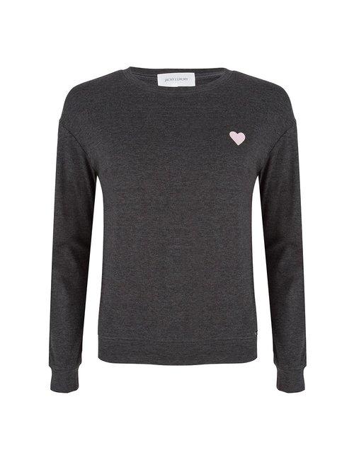 Jacky Luxury Sweater met artwork op de achterkant