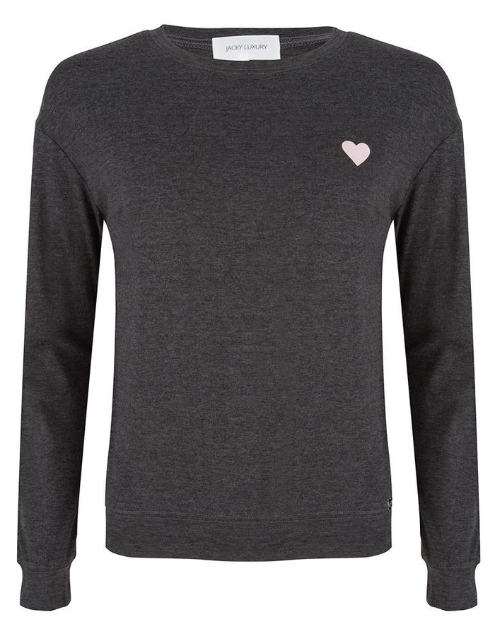Sweater met artwork op de achterkant