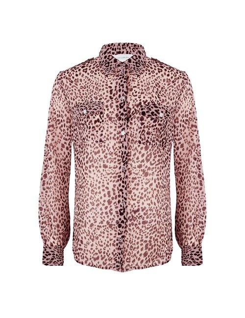 Jacky Luxury Basic blouse met print
