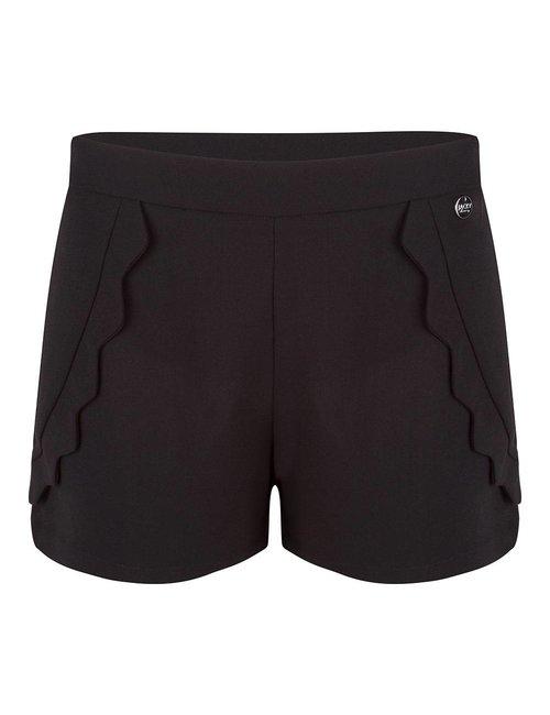 Jacky Luxury Shorts met scallops