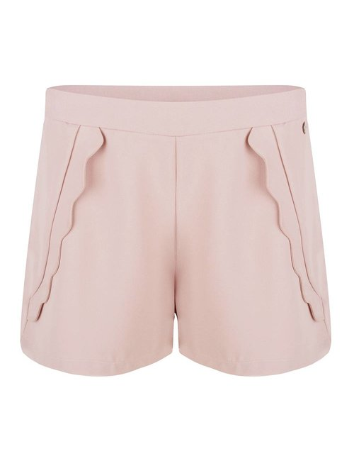 Jacky Luxury Shorts met scallops