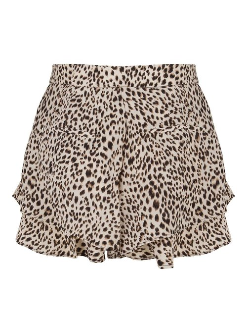 Jacky Luxury Leopard shorts