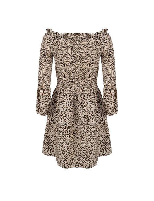 Jacky Luxury Off-shoulder jurk