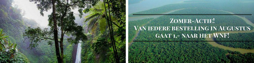 Augustus-actie:  Steun het WNF Amazone project!