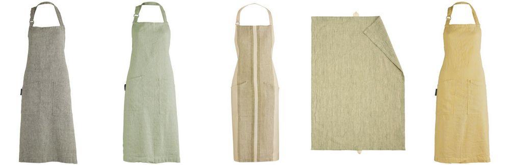 Het fijnste en meest duurzame  keukentextiel is linnen!