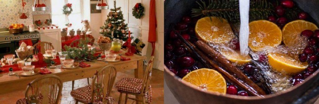 De geur van kerstmis