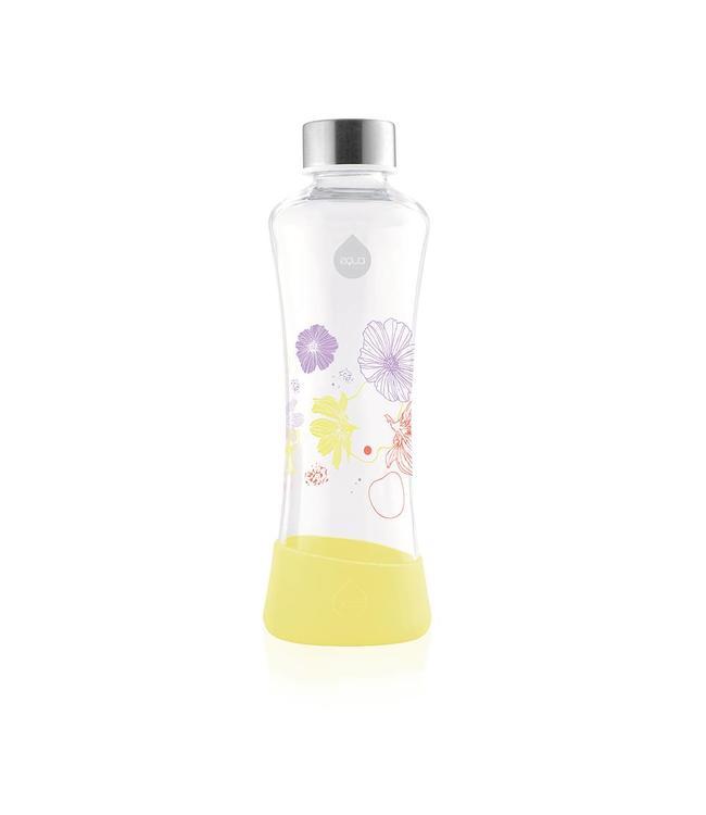 Equa Glazen drinkfles Daisy