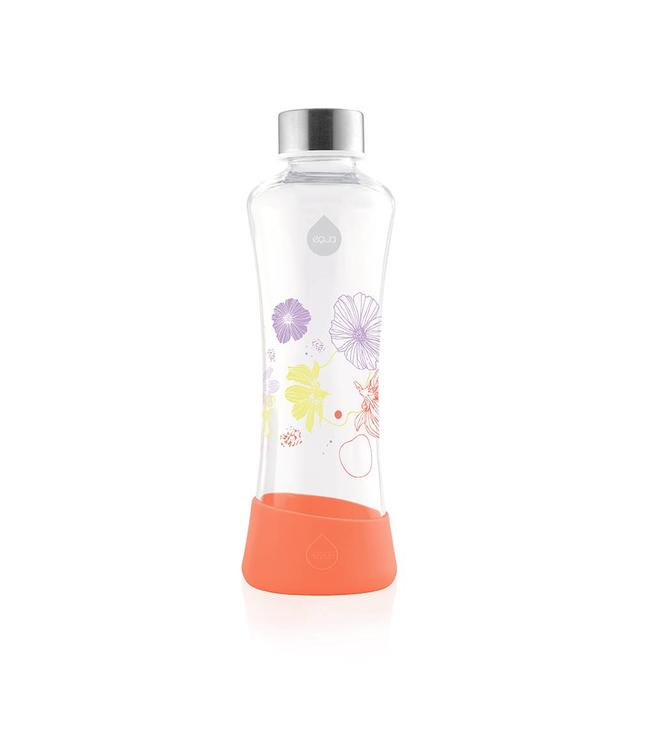 Equa Glazen waterfles Poppy