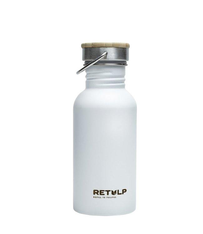 Retulp Wit RVS drinkflesje 500 ml