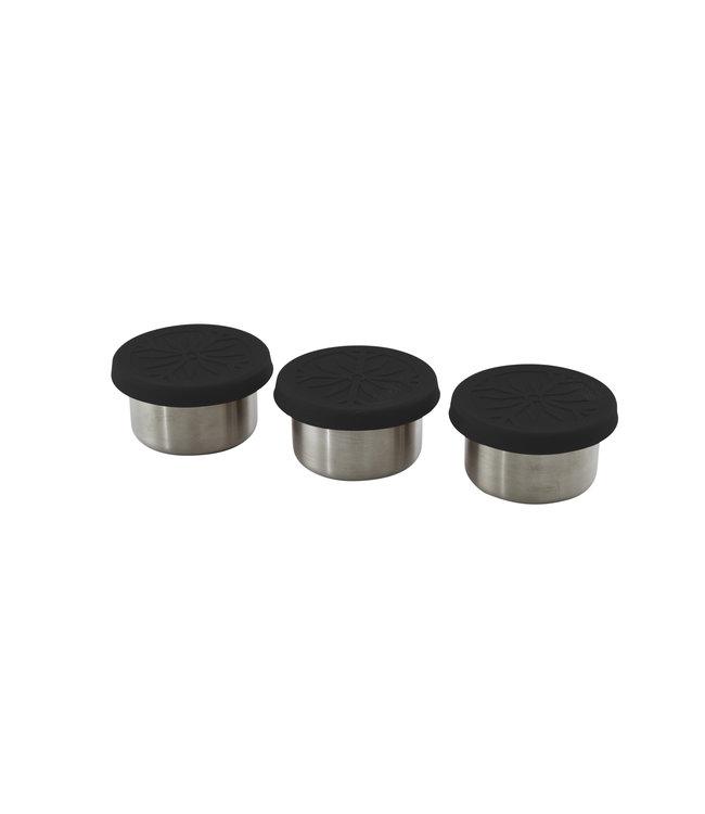 Point Virgule 3-delige set RVS mini containers