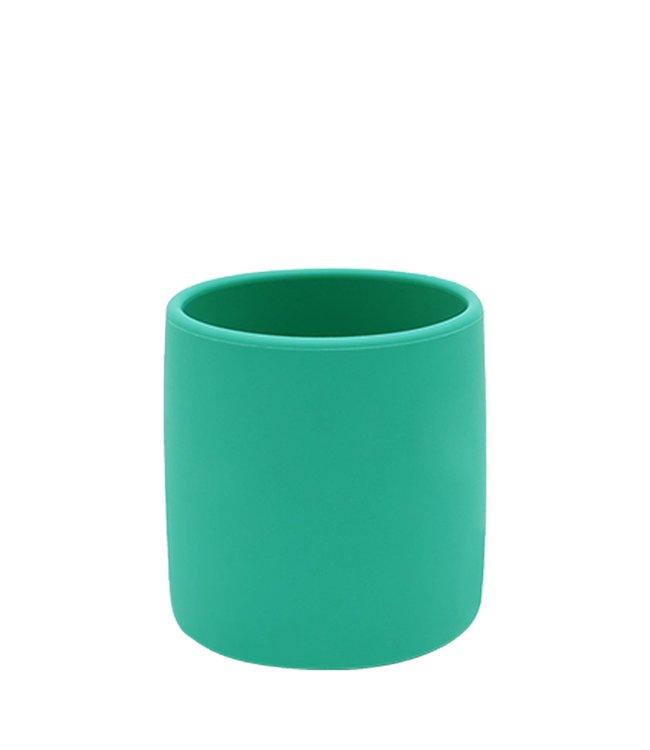 MiniKOiOi Groene kinderbeker van siliconen