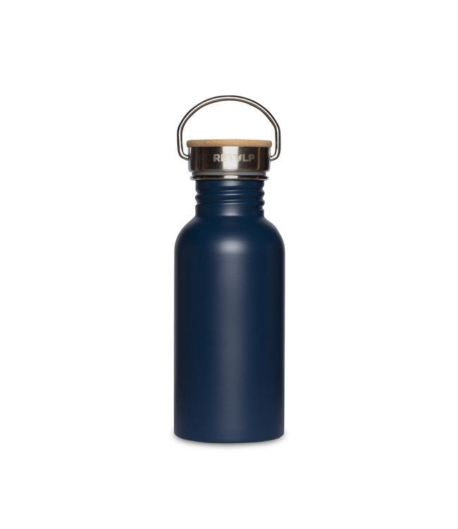 Retulp Donkerblauw RVS drinkflesje 500 ml