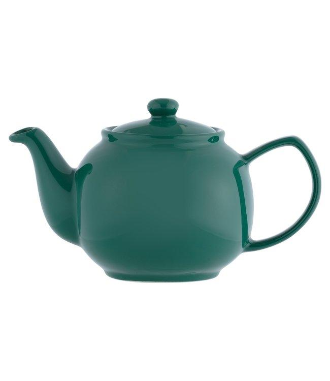 Price & Kensington Smaragdgroene theepot 6-kops