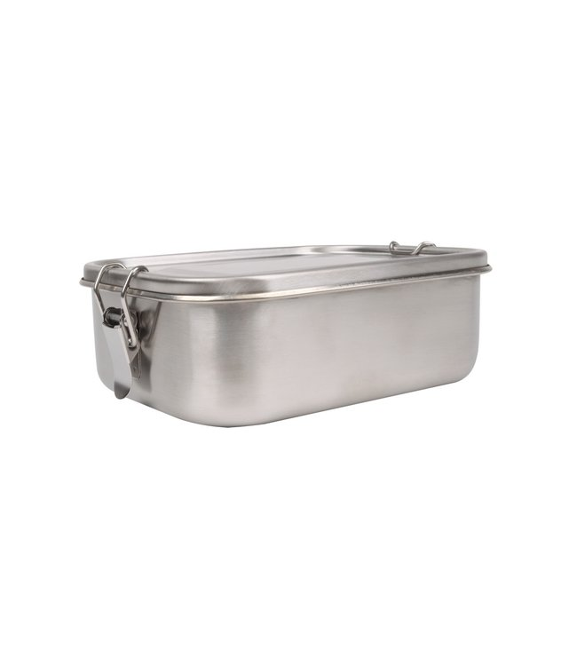 Weis RVS Broodtrommel 0,8 liter