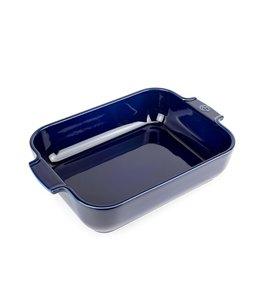 Peugot Keukenartikelen Donkerblauwe ovenschaal 'Appolia' 27 cm