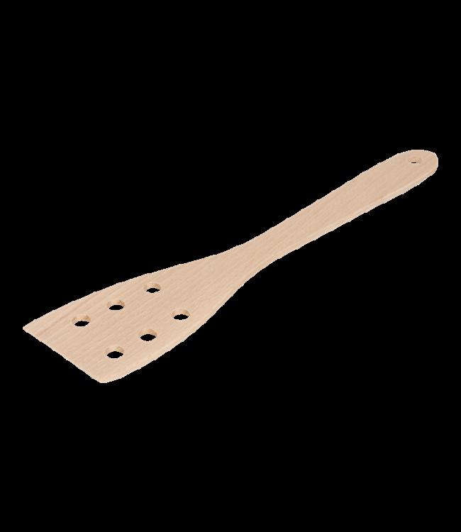 Kitchen Basics  Houten spatel met gaatjes