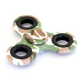 Fidget Hand Spinner Army bruin-groen