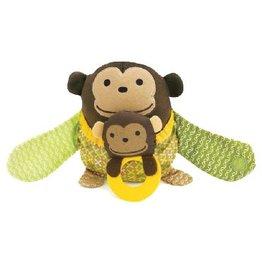 Skip Hop Activiteiten knuffel Stroller Toy monkey